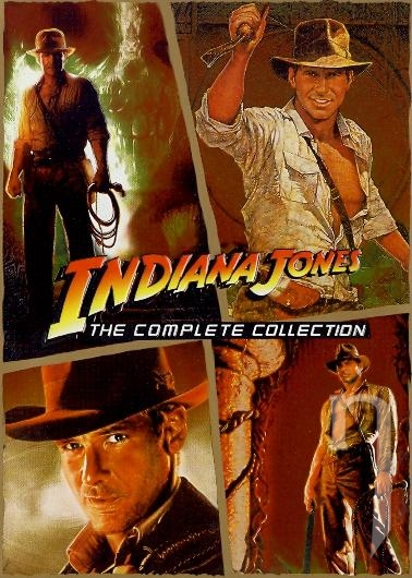 DVD Film - Indiana Jones - kolekcia 4DVD BOX