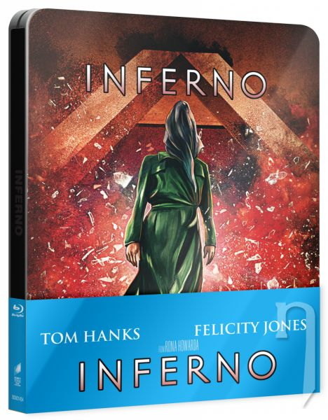 BLU-RAY Film - Inferno - Steelbook pop art