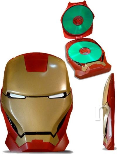 DVD Film - Iron Man (2 DVD) + MASKA