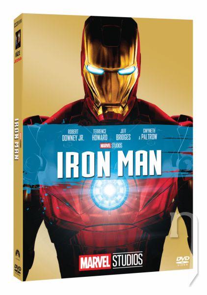 DVD Film - Iron Man - Edice Marvel 10 let