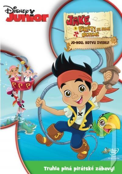 DVD Film - Jake a piráti ze Země Nezemě