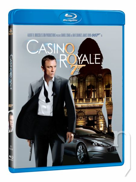 BLU-RAY Film - James Bond: Casino Royale