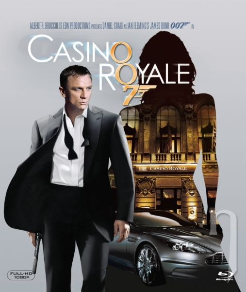 BLU-RAY Film - James Bond: Casino Royale (Blu-ray)
