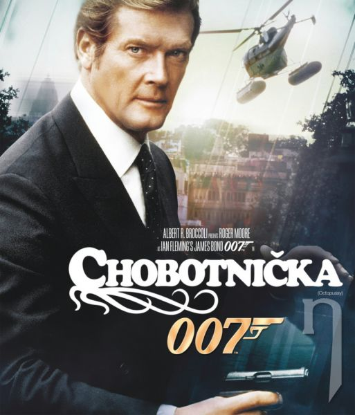 BLU-RAY Film - James Bond: Chobotnička