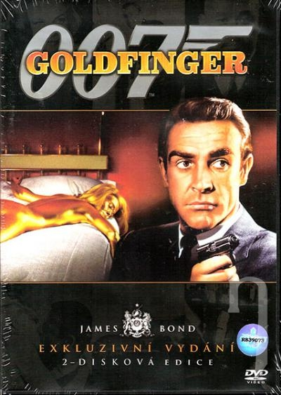 DVD Film - James Bond: Goldfinger