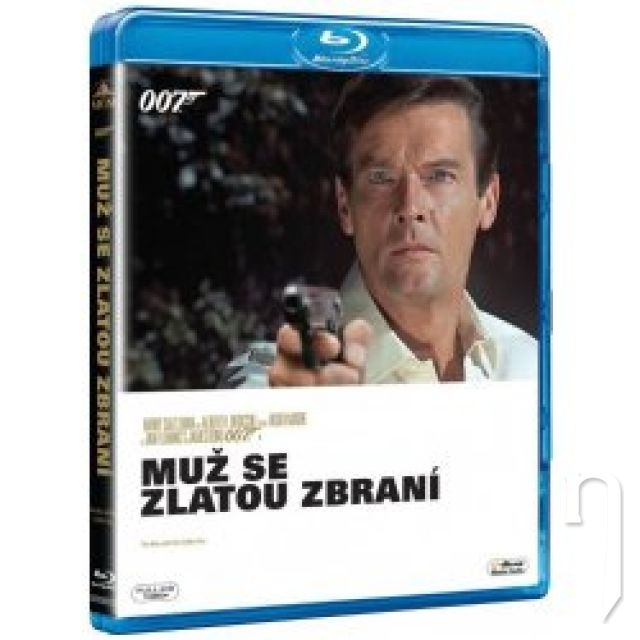 BLU-RAY Film - James Bond: Muž so zlatou zbraňou (Blu-ray)