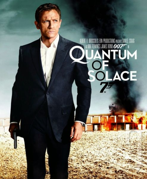 BLU-RAY Film - James Bond: Quantum of solace (Blu-ray)