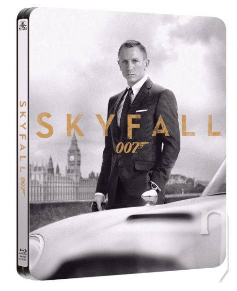 BLU-RAY Film - James Bond: Skyfal (steelbook)