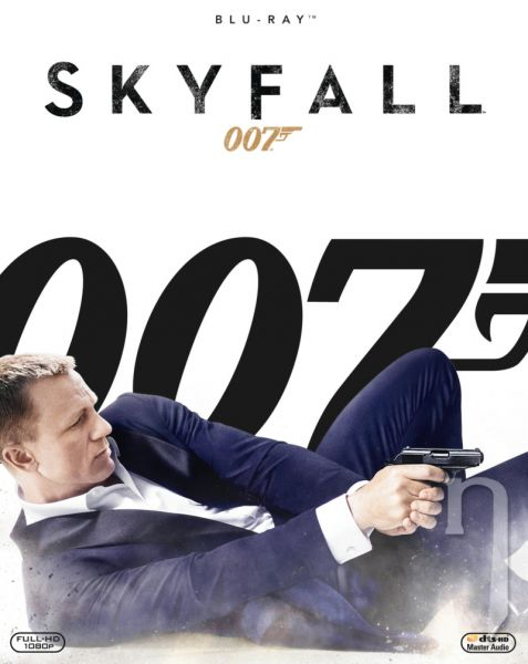 BLU-RAY Film - James Bond: Skyfall