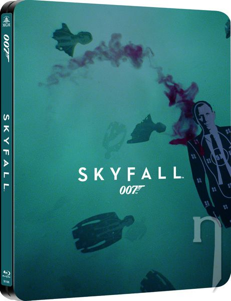 BLU-RAY Film - James Bond: Skyfall (steelbook)
