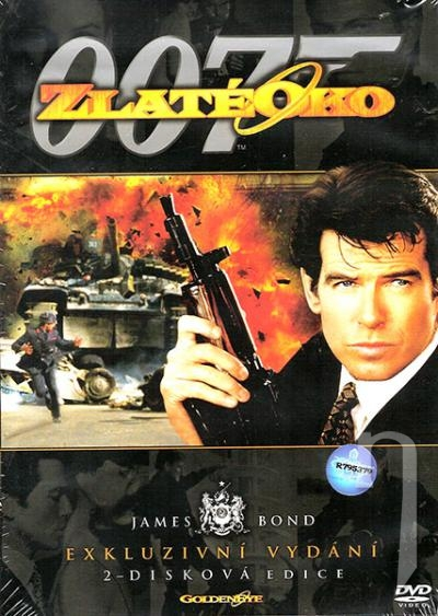 DVD Film - James Bond: Zlaté oko