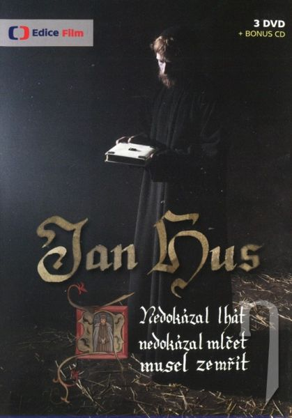 DVD Film - Jan Hus (3DVD + 1CD)