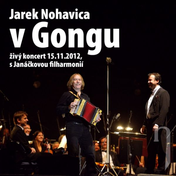 CD - JAREK NOHAVICA - V gongu (CD+DVD)