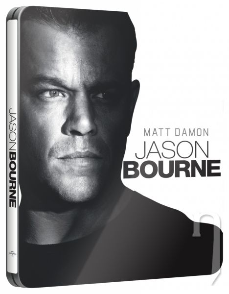 BLU-RAY Film - Jason Bourne - steelbook