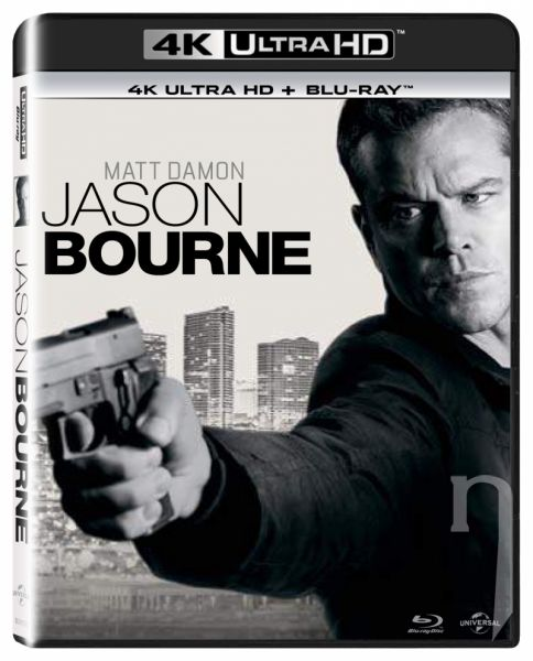 BLU-RAY Film - Jason Bourne UHD + BD
