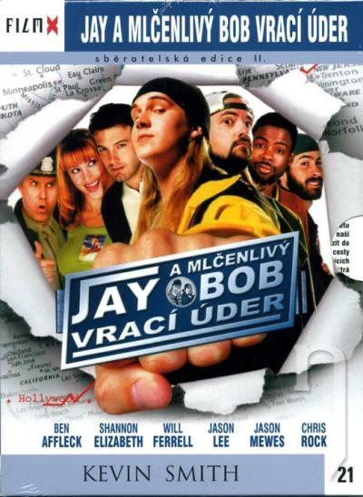 DVD Film - Jay a Mlčanlivý Bob vracajú úder (filmX)