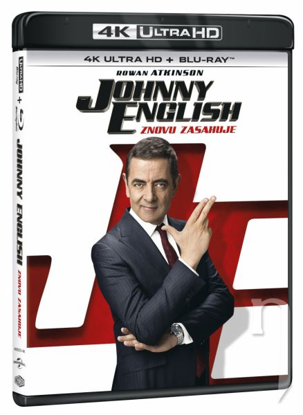 BLU-RAY Film - Johnny English znovu zasahuje (UHD+BD)
