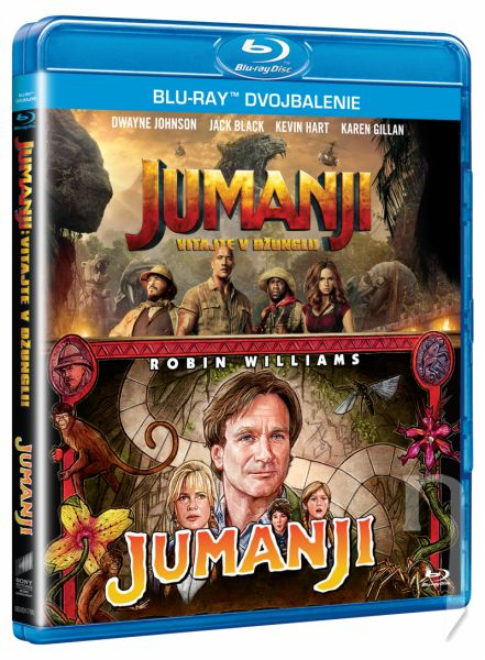 BLU-RAY Film - Jumanji kolekcia (2 Bluray)