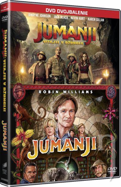 DVD Film - Jumanji kolekce (2 DVD)