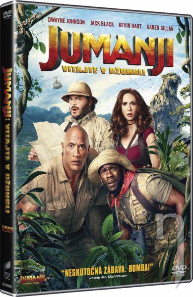 DVD Film - Jumanji: Vítejte v džungli!