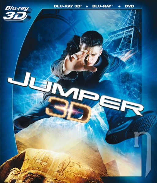 BLU-RAY Film - Jumper 3D/2D + DVD