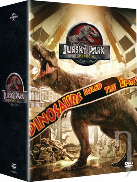 DVD Film - Jurský park - Kolekce 1-4 (25. výročí)