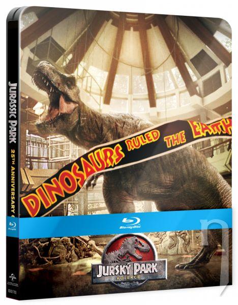 BLU-RAY Film - Jurský park - Kolekce 1-4 (25. výročí)