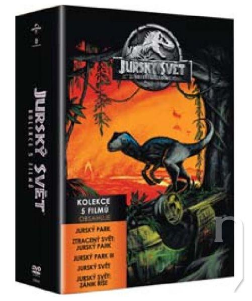 DVD Film - Jurský svět - Kolekce 1-5 (5 DVD)