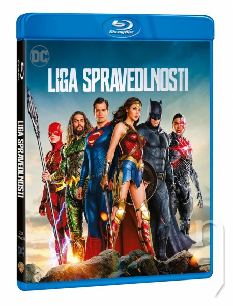 BLU-RAY Film - Justice League