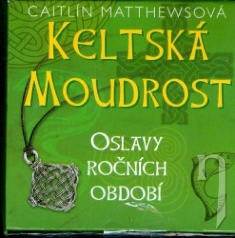 Kniha Keltska Moudrost Kniha Karty Privesok