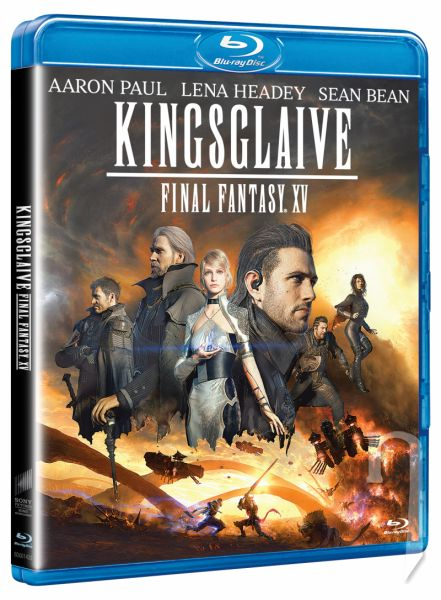 BLU-RAY Film - Kingsglaive: Final Fantasy XV