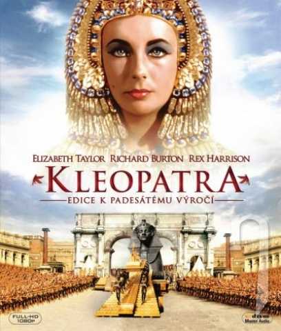 BLU-RAY Film - Kleopatra - edice k padesátemu výročí (2 Bluray)