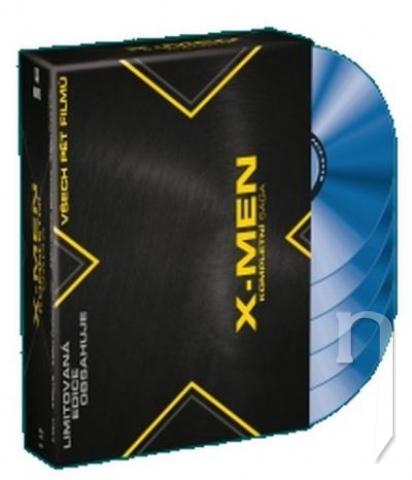 BLU-RAY Film - Kolekce: X-Men (5 Bluray)