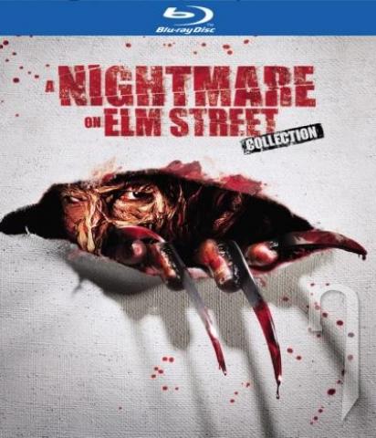 BLU-RAY Film - Kolekce: Noční můra v Elm Street 1-7 (4x Bluray + 1 DVD s bonusy)