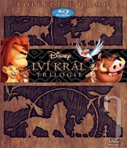 BLU-RAY Film - Kolekce: Lví král 1-3 (3 x Blu-ray)