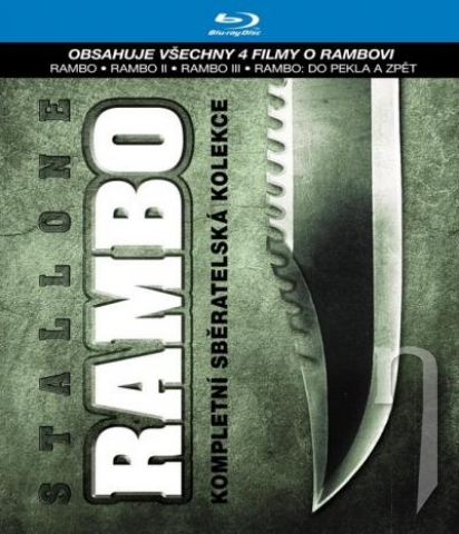 BLU-RAY Film - Kolekce: Rambo (4  Bluray)