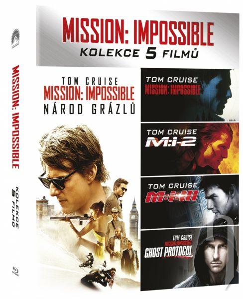 BLU-RAY Film - Mission: Impossible kolekce 1-5. 5Bluray
