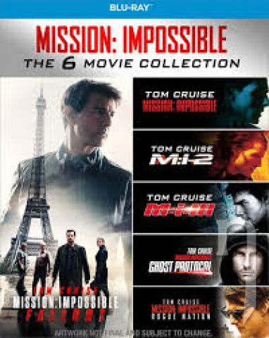 BLU-RAY Film - Mission: Impossible kolekce 1-6. 6Bluray