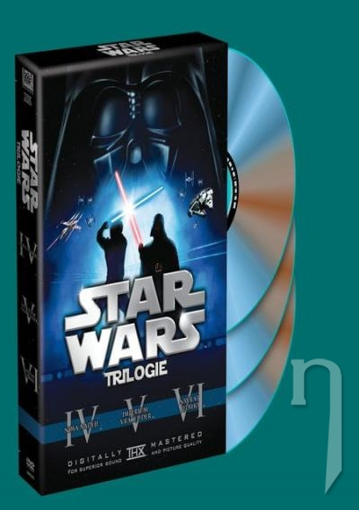 DVD Film - Kolekcia 3 DVD Star Wars (IV, V, VI)