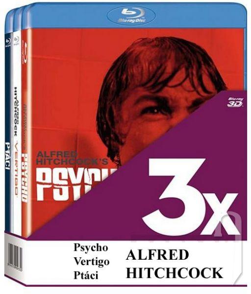 BLU-RAY Film - KOLEKCE ALFRED HITCHCOCK (3 BD)