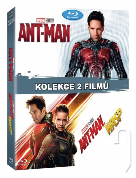 BLU-RAY Film - Kolekcia Ant-Man 1.-2. (2Bluray)