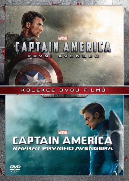 DVD Film - Kolekce Captain America (2 DVD)