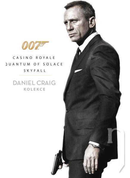 DVD Film - Kolekcia Daniela Craiga (3 DVD)