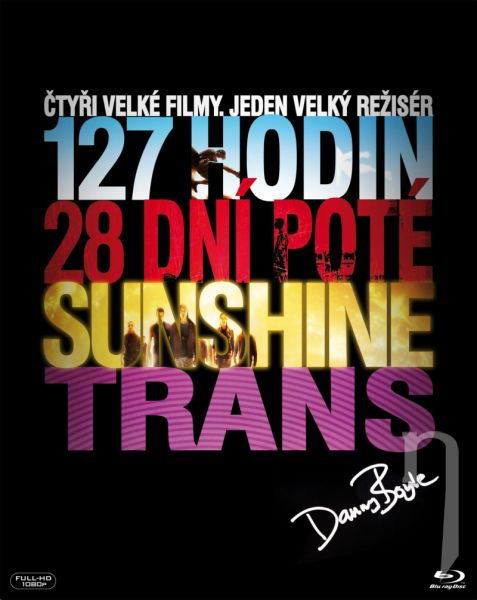 BLU-RAY Film - Kolekce Danny Boyle (4 Bluray)