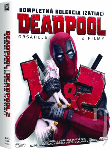 DVD Film - Kolekcia: Deadpool (2 DVD)