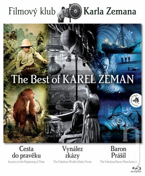 BLU-RAY Film - KOLEKCE FILMŮ KARLA ZEMANA