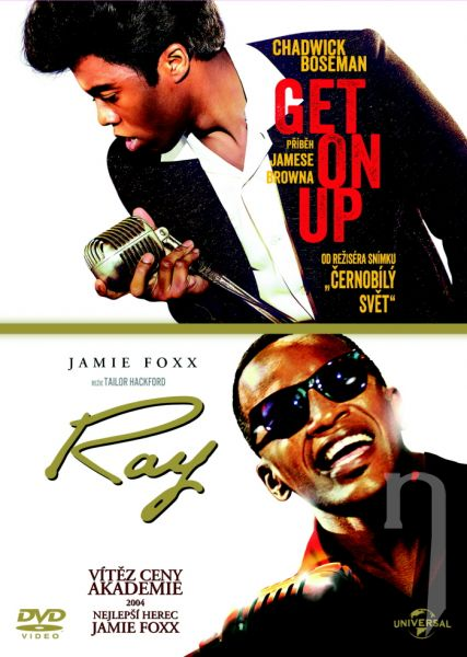 DVD Film - Kolekcia: Get On Up - Príbeh Jamesa Browna + Ray (2 DVD)