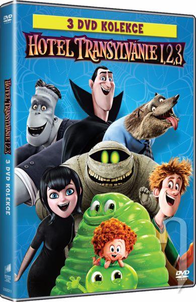 DVD Film - Kolekce: Hotel Transylvánie (3 DVD)