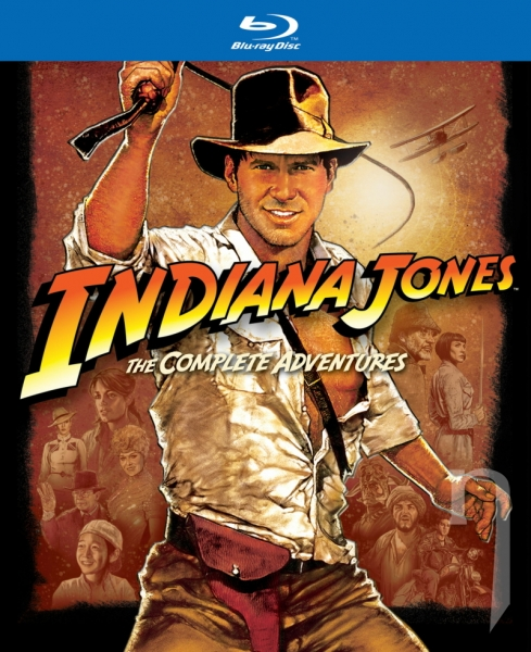 BLU-RAY Film - Kolekcia: Indiana Jones (5 Bluray)