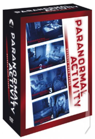 DVD Film - Kolekcia: Paranormal Activity 1.-4. (4DVD)